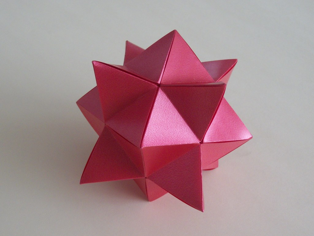 The World's Best Photos of origami and poliedro - Flickr ... - photo#48