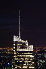 the city (MSdelEstal) Tags: new york city ny newyork building rock night noche top nuit nueva topoftherock nuevayork