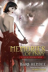 October 5th 2010 by Roc Trade   Memories of Envy (Vampire Memories, #3) by Barb Hendee