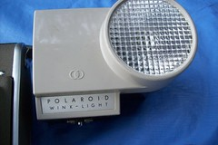 Polaroid Highlander Model 80A Wink Light (faithapatton) Tags: camera vintage polaroid highlander retro landcamera winklight ohthanks