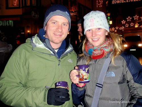 Gluhwein at Bonn Christmas Market, Germany