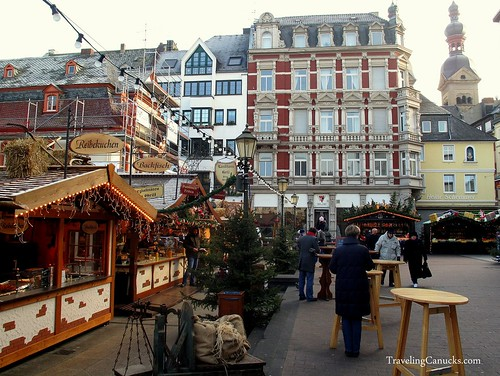 Christmas Market in Koblenz, Germany