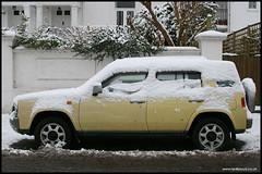 Nissan Rasheen (reallyloud) Tags: snow nissan henley rasheen