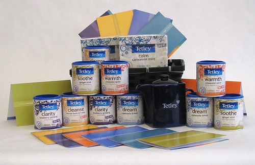 Tetley Colour Therapy Gift Basket