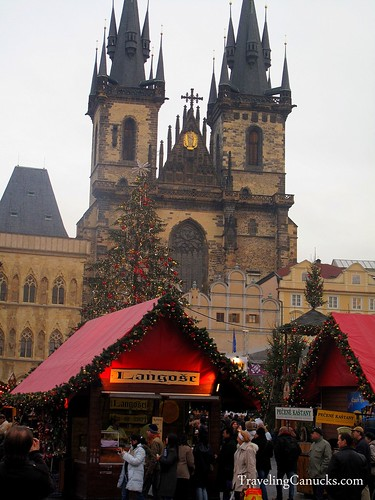 Christmas Market in Prague, Czech Repbulic