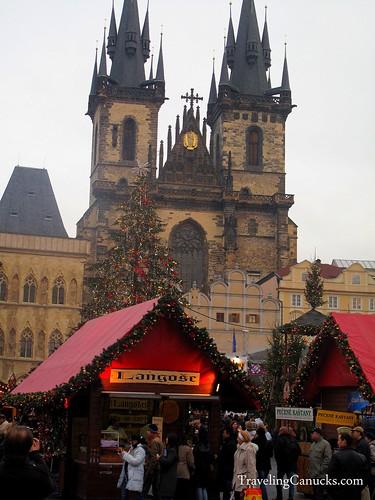 Christmas Market in Prague, Czech Repbulic