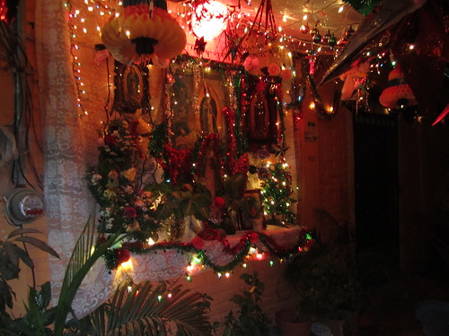 good Virgen of Guadalupe altar