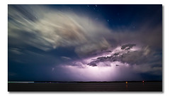 Lick The Stars (Matthew Stewart | Photographer) Tags: beach island hope sand brisbane qld queensland thunderstorm lightning beacons storms thunderstorms stormchasing dwcffnight