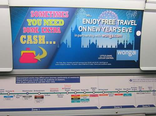 Wonga sponsor Free New Year's Eve Travel