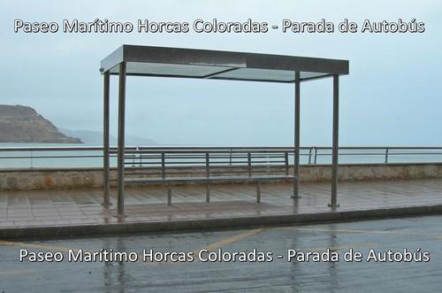 Paseo Marítimo Horcas Coloradas - Parada de Autobús