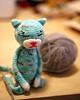 Amineko #2 (Radical She Tarot) Tags: cat crochet amigurumi amineko milkyrobot