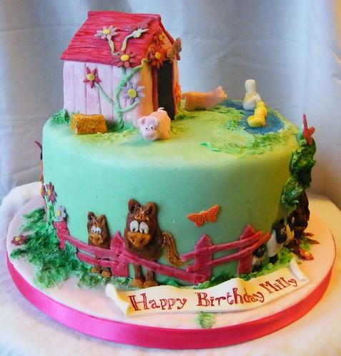 Milly's farm cake