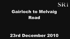 Gairloch to Melvaig Road (NORMANPICKERING.COM) Tags: road snow scotland video highlands snowy winterweather gairloch melvaig