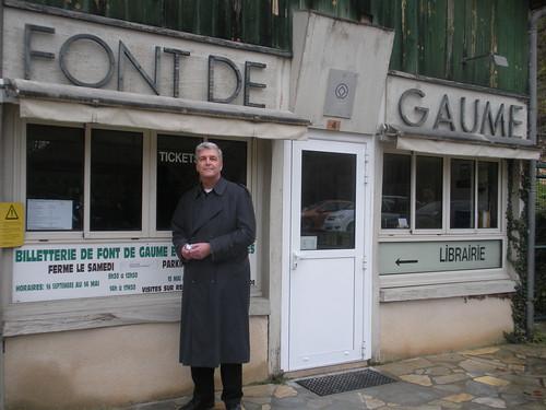 John at Font de Gaume