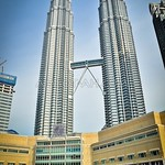 Petronas Twin Towers Skybridge View