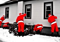He knows if you've been bad or good... (Lee Saboro) Tags: santa christmas gimp clones santa