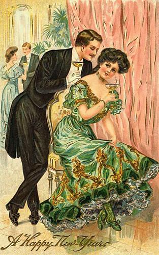 Artzee Chris' Cool Clipart & Graphics: Victorian Happy New ...