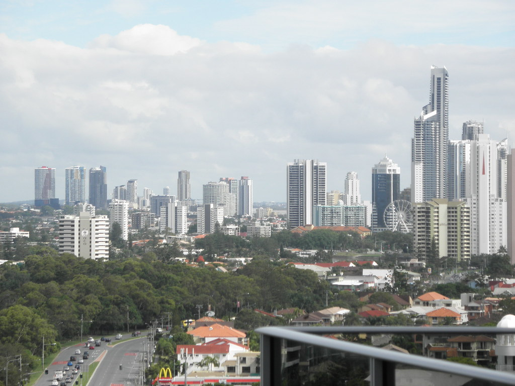 View From 20th Floor, Meriton Serviced Apartments @ Gold Coast