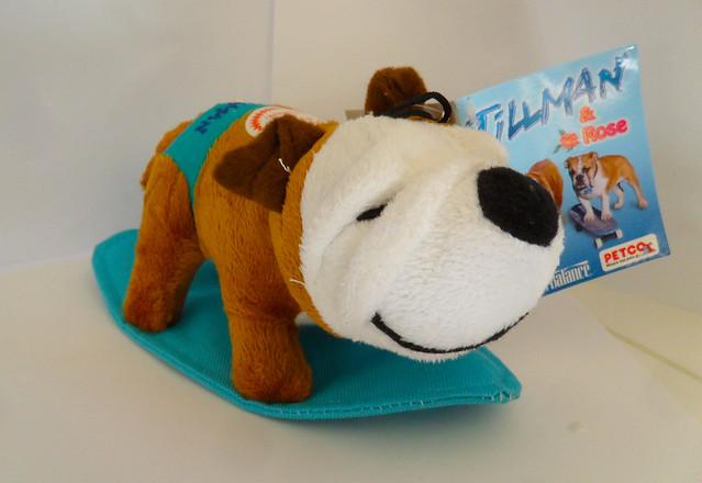 Tillman-Bulldog Plush Toy by PalmSpringsSavant