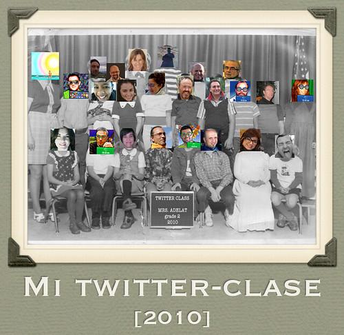 Mi Aula en Twitter durante 2010