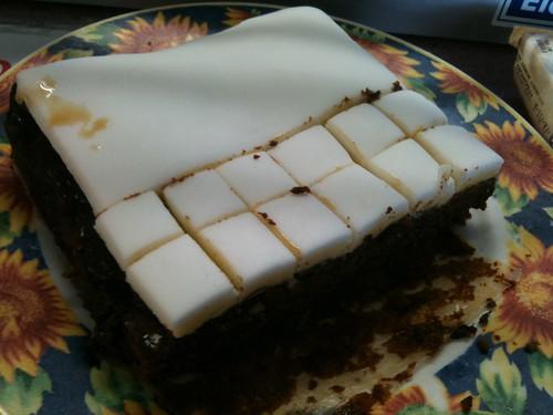 YHAマウイーカイコウラが用意したクリスマスケーキ