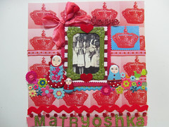 Matryoshka Scrapbook Layout! 8