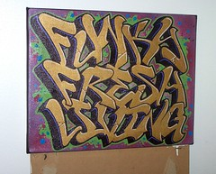 FFL canvas (PERTS) Tags: graffiti canvas ffl
