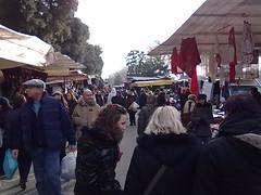 Il mercato alle cascine e la zucchina centenaria