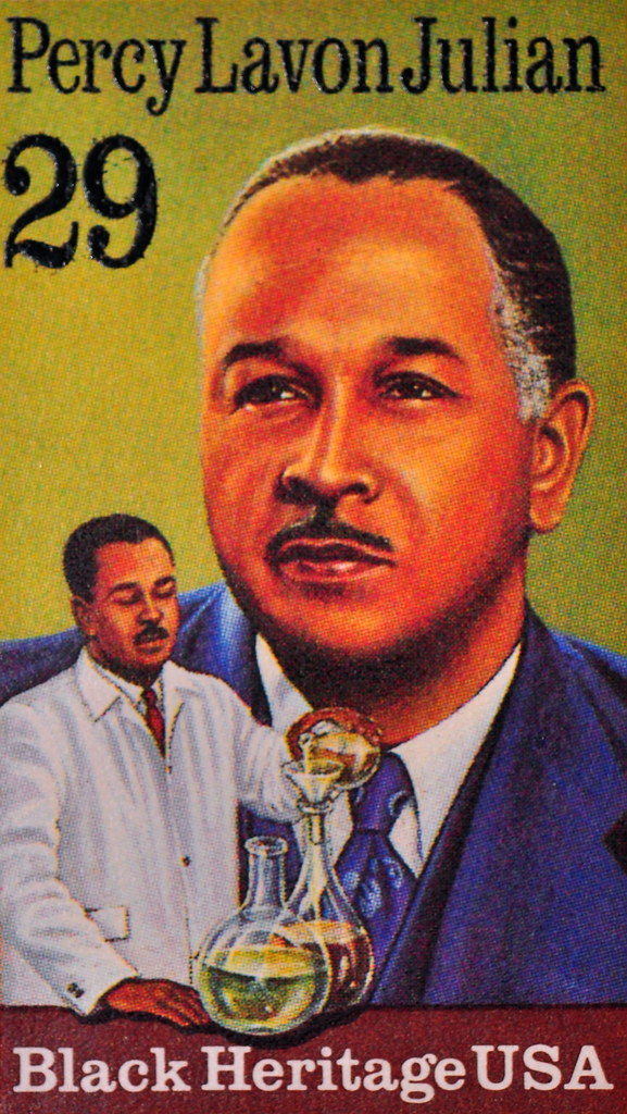 Percy Lavon Julian Black Heritage Stamp