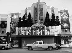 West Side Story (Renee Rendler-Kaplan) Tags: christmas winter bw la losangeles theater december play theatre kodak live jets socal hollywood sharks kodakeasyshare lovestory romeoandjuliet 2010 westsidestory hollywoodcalifornia pantages terrific hollywoodboulevard laist pantagestheatre leonardbernstein boulevardofbrokendreams stephensondheim hoorayforhollywood socalwinter limitedengagement justafewdaysleft reneerendlerkaplan enthrallingandelectric earlymorningsocalsunshine socalfromatouristseye whatididntseeonmyvacation butitsoneofmyfavoritemovies stillmissingnataliewood