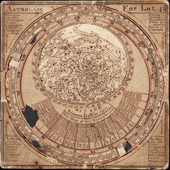 Cosmos in Miniature: The Remarkable Star Map of Simeon De Witt (national museum of american history) Tags: washingtondc smithsonian dc astronomy astrolabe nationalmuseumofamericanhistory starmap 1780 simeondewitt paperastrolabe yearinreview2010