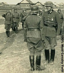 German Officers Wearing Steel Helmets 4 (Make Oxygen... Kill Co2...Plant More Trees) Tags: