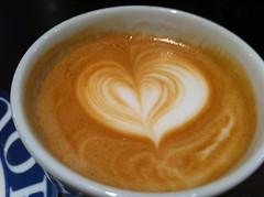 Added value (filosofiflickan) Tags: coffee design heart kaffee herz kaffe fika hjärta espressohouse fikabreak