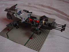 inside (MorderczyGroszek) Tags: scale star ship lego fig mini micro shuttle figure wars freighter