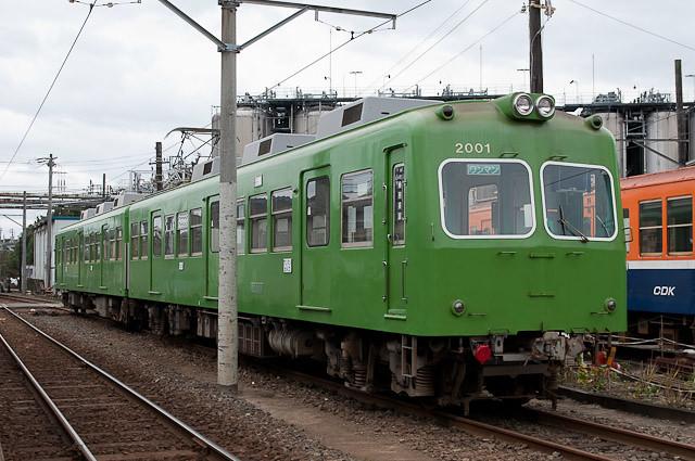 銚子電鉄 2000形 2001F 塗装変更