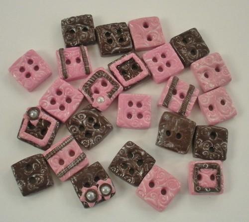 Tessa Ann Shabby Chic buttons
