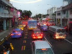 SINGAPORE - (2011) - LITTLE INDIA (GigiZec) Tags: travel vacation holiday tourism rain island singapore asia tourist tropical destination tropic sight littleindia merlion 2011 colourfulbuildings lioncity