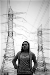 back to our memory (photokedek/fahmi) Tags: portrait blacknwhite wana bangi electricsubstation photokedek mohdfahmi syazwana