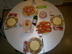 Lobster New Year Eve dinner #1 by RennyBA, on Flickr