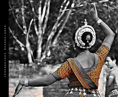 Posture Perfect :) (Rimi's Magik!) Tags: travel india tourism nature lady dance nikon expression indian culture chennai incredible orissa tamilnadu odissi dakshinachitra d90 ndia naturechennai nikonflickraward