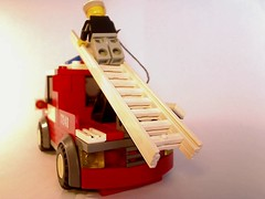 LEGO Fire Engine - Back