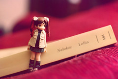 2/365 (Studio Neko) Tags: cute book doll libro lolita kawaii figure nabokov