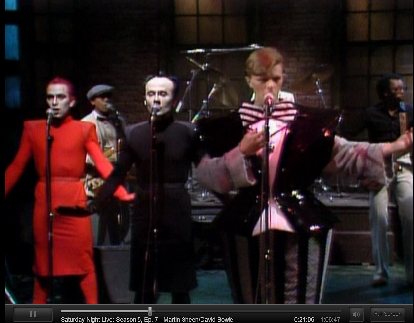 david bowie on snl