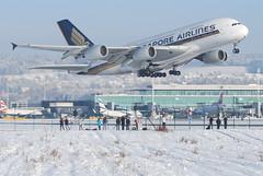 Singapore Airlines Airbus A380-841; 9V-SKG@ZRH;26.12.2010/591bq (Aero Icarus) Tags: start plane airport aircraft jet zürich flugzeug takeoff avion singaporeairlines zrh zürichkloten zürichflughafen airbusa380 december2010 9vskg fourholer