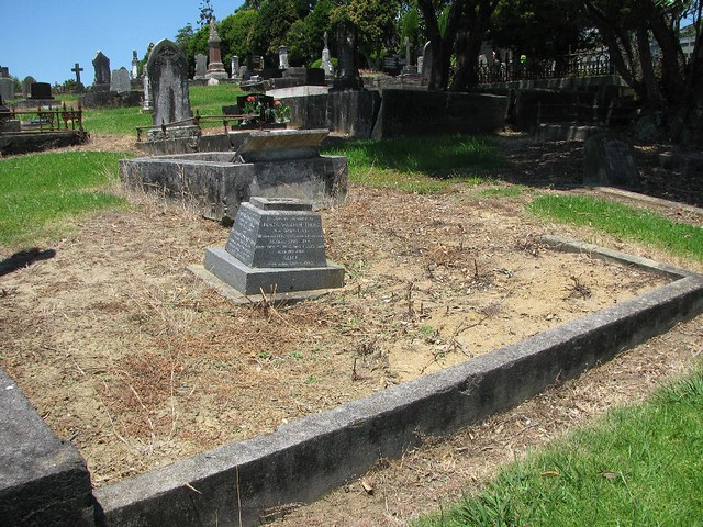 TIBBS family grave including memorial for son drowned on active service photo 1 of 5 by SandyEm