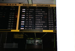 Late 1980s Old Hong Kong Kai Tak Airport Departure Board (Can Pac Swire) Tags: 1980s hkg kaitakairport planespotting airliner civil aircraft destination departure board departures display flip flightinformationdisplaysystem britishcaledonian