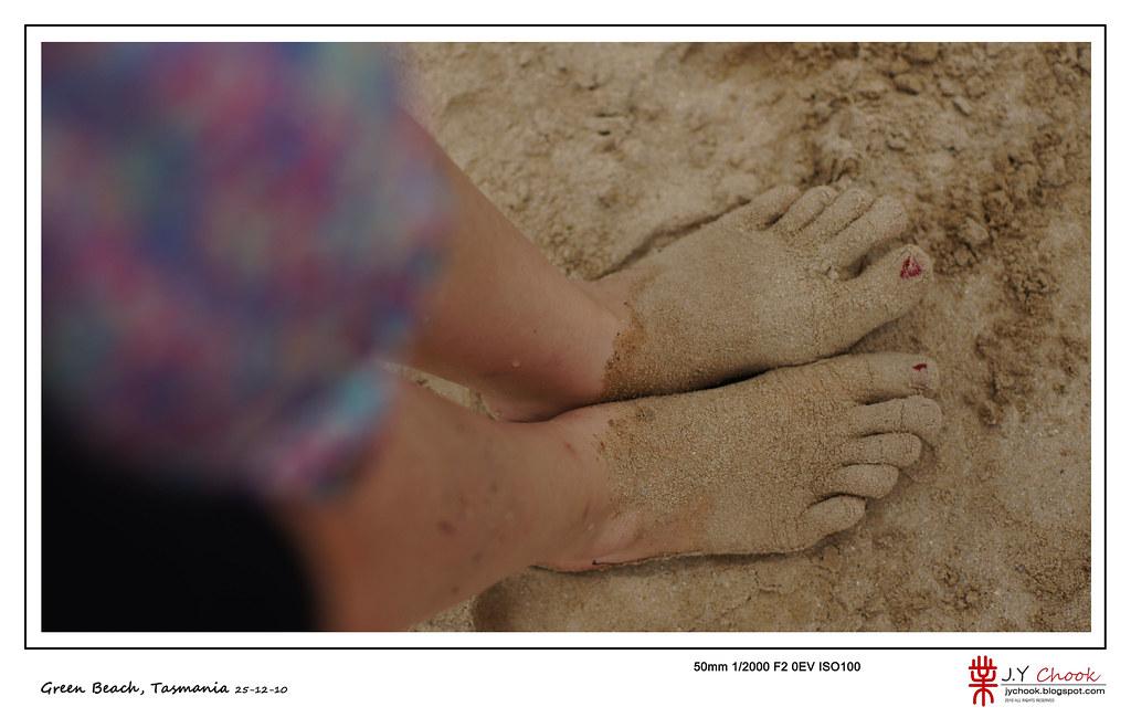 virly's feet