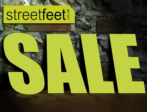 Great bargains at the StreetFeet Sale