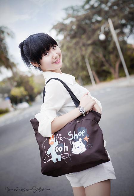 model Nhã Khanh - Hình chụp cho shop thời trang Chicky Chu