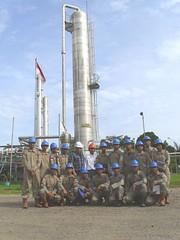 Kunjungan Politeknik Akamigas Palembang ke PT. Titis Sampurna